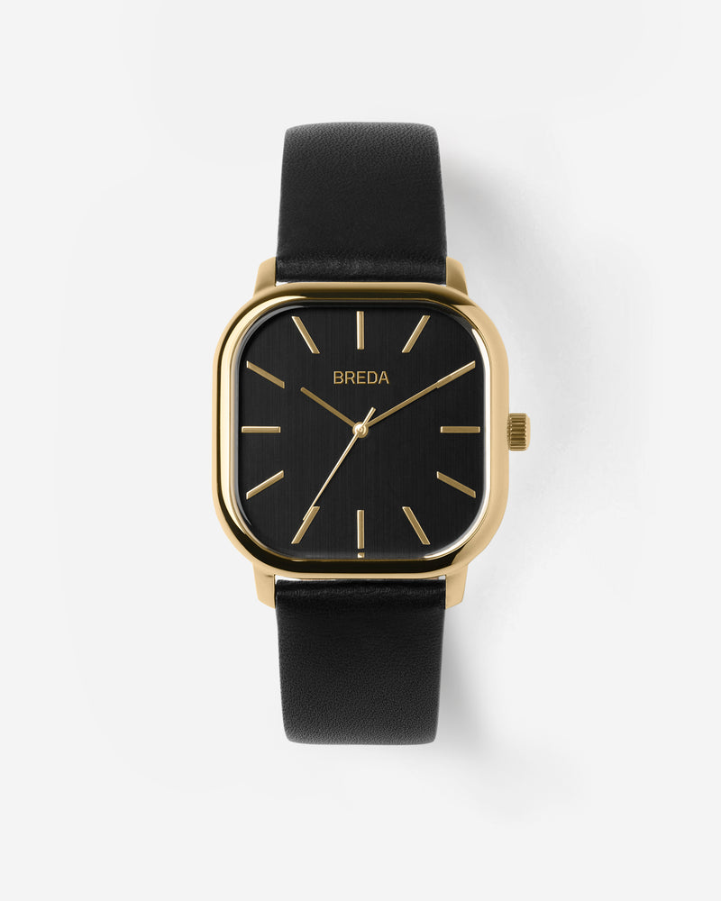 breda-visser-1728h-gold-black-leather-watch-front