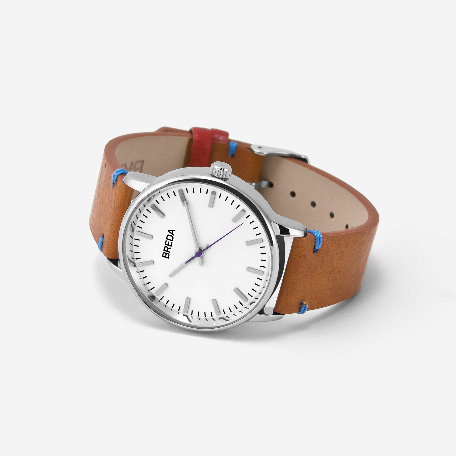 breda-zapf-1697c-silver-brown-watch-angle