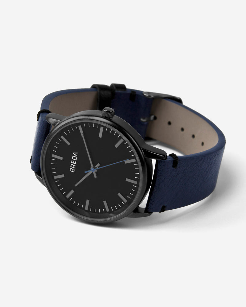 breda-zapf-1697g-gunmetal-navy-watch-angle