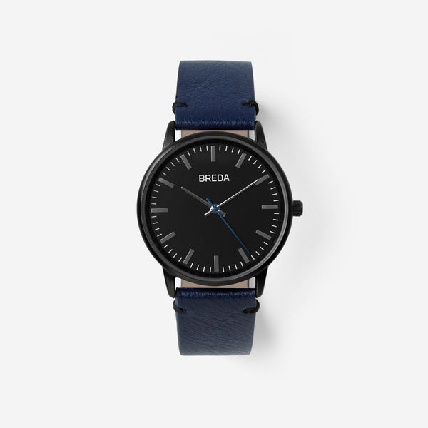 breda-zapf-1697g-gunmetal-navy-watch-front