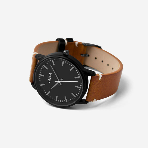 breda-zapf-1697h-black-brown-watch-angle