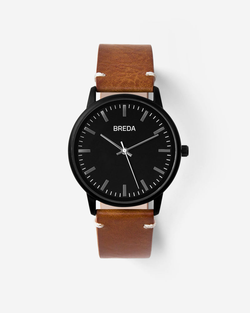 breda-zapf-1697h-black-brown-watch-front