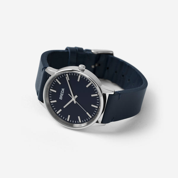 breda-zapf-1697m-silver-navy-leather-watch-angle