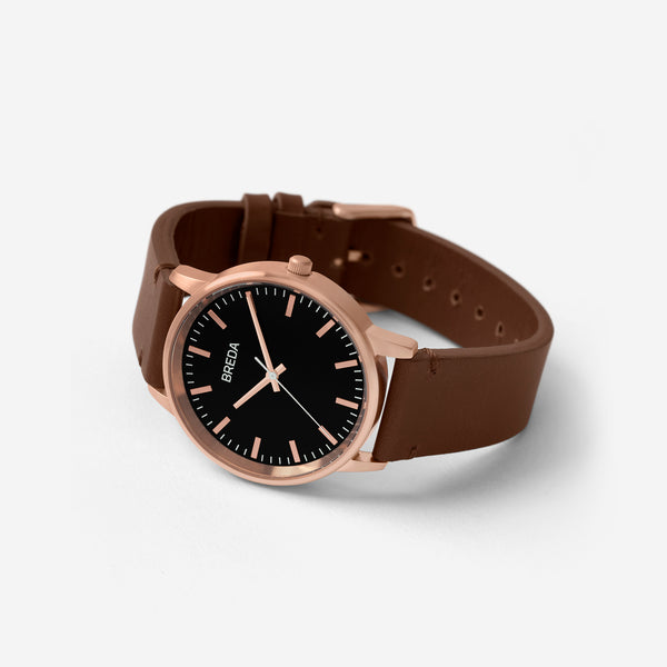 breda-zapf-1697n-rose-gold-brown-leather-watch-angle