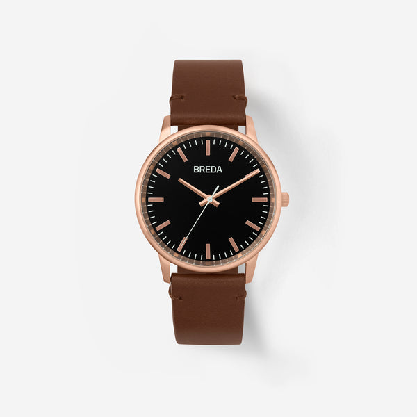 breda-zapf-1697n-rose-gold-brown-leather-watch-front