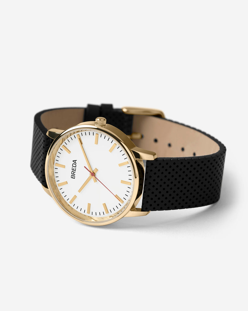 breda-zapf-1725a-gold-black-leather-watch-angle