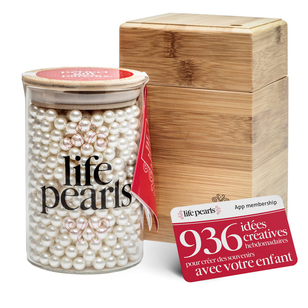 Life Pearls and Eco-Friendly Bamboo Box Set