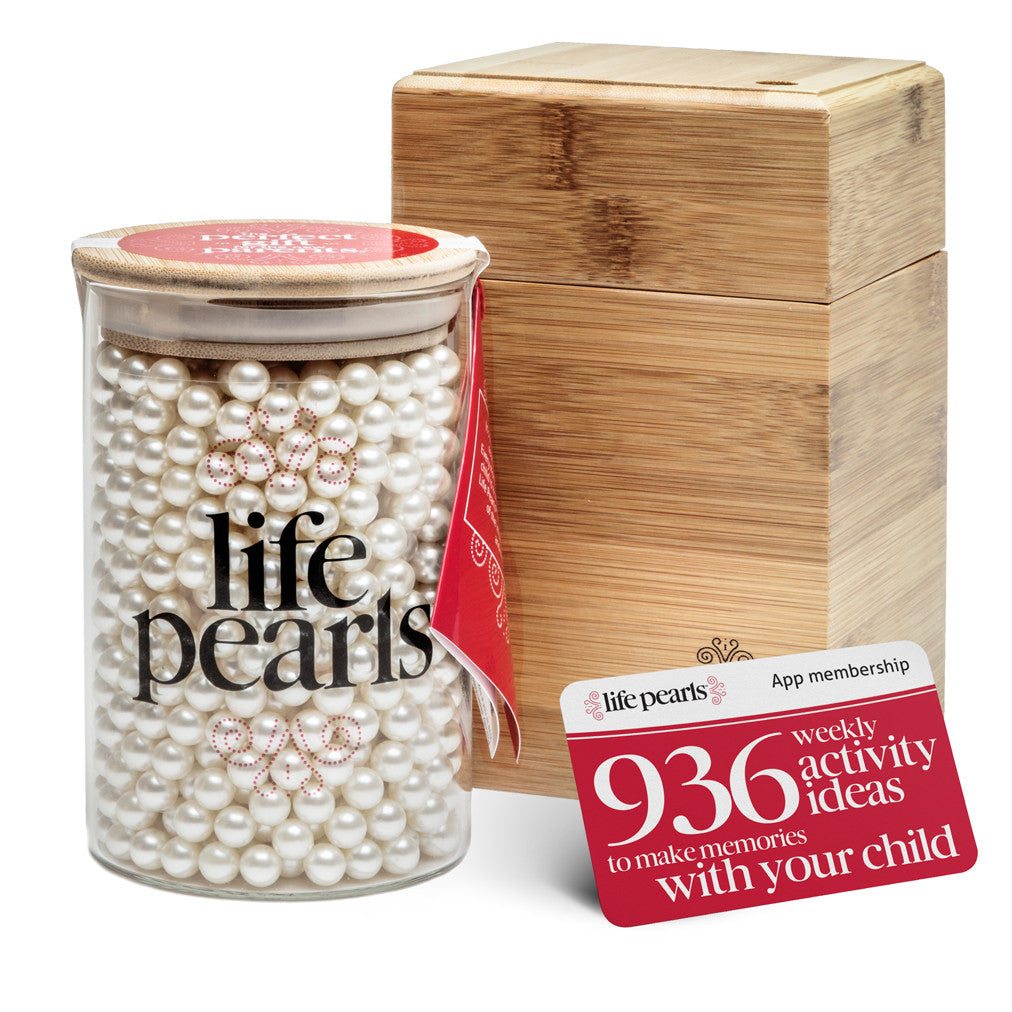 A Life Pearls and Eco-Friendly Bamboo Box Set