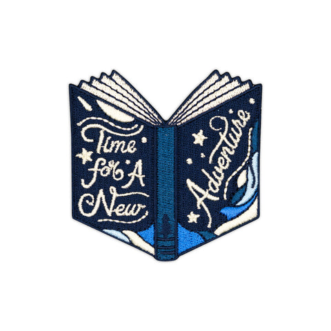2020 Dumpster Fire Blue Dumpster Embroidered Iron-On Patch