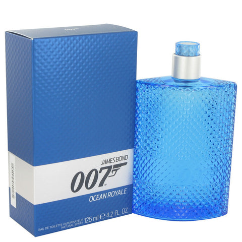 007 Ocean Royale by James Bond Eau De Toilette Spray 4.2 oz Men