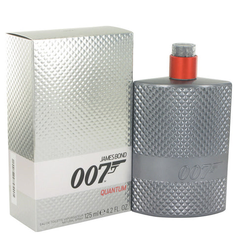 007 Quantum by James Bond Eau De Toilette Spray 4.2 oz Men