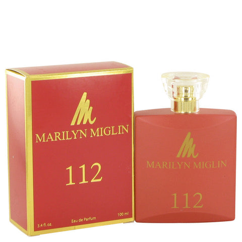 112 M by Marilyn Miglin Eau De Parfum Spray 3.4 oz Women