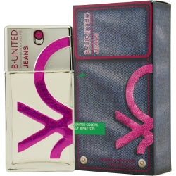 B UNITED JEANS by Benetton EDT SPRAY 3.3 OZ WOMEN