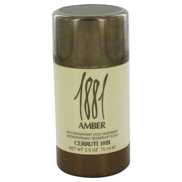 1881 Amber by Nino Cerruti Deodorant Stick 2.5 oz Men - Fragrance And Gift