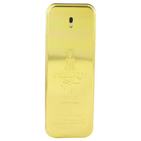 1 Million Absolutely Gold Cologne by Paco Rabanne Pure Perfume Spray (Tester) 3.3 oz Men