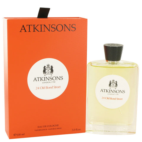 24 Old Bond Street by Atkinsons Eau De Cologne Spray 3.3 oz Men