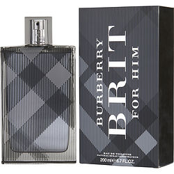 BURBERRY BRIT by Burberry EDT SPRAY 6.7 OZ (NEW PACKAGING) MEN