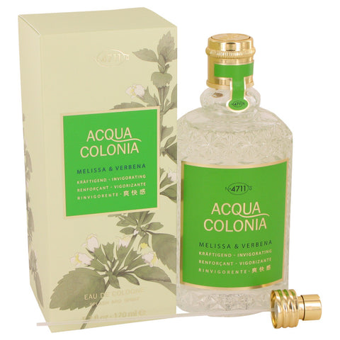 4711 ACQUA COLONIA Melissa & Verbena by Maurer & Wirtz Eau De Cologne Spray (Unisex) 5.7 oz Women