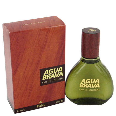 AGUA BRAVA by Antonio Puig Gift Set -- 1.7 oz Cologne + 1.7 oz After Shave + Agua Brava Watch Men