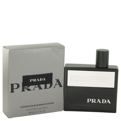 Prada Amber Pour Homme Intense by Prada Eau De Parfum Spray (Tester) 3.4 oz Men