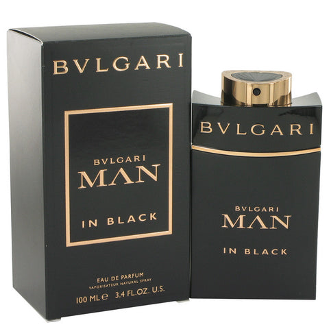 Bvlgari Man In Black by Bvlgari Eau De Parfum Intense Spray 3.4 oz Men