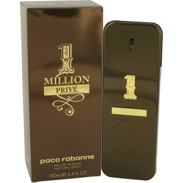 1 Million Prive by Paco Rabanne Eau De Parfum Spray 3.4 oz Men - FragranceAndGift
