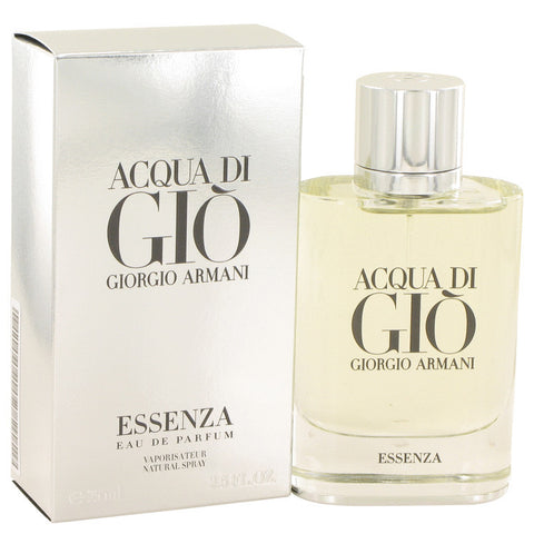 Acqua Di Gio Essenza by Giorgio Armani Eau De Parfum Spray 2.5 oz Men