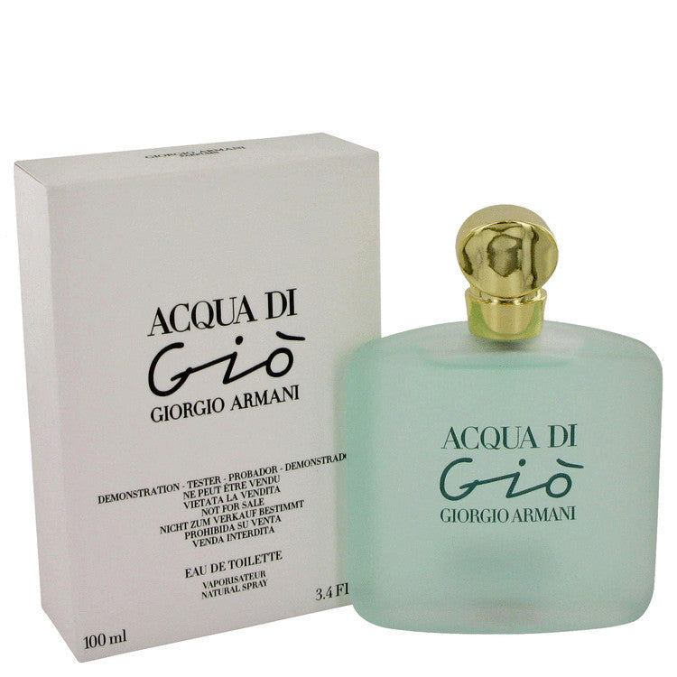 Acqua Di Gio By Giorgio Armani Eau De Toilette Spray Tester 34 Oz
