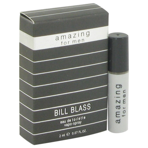 AMAZING by Bill Blass Vial (Sample-Spray) .07 oz Men