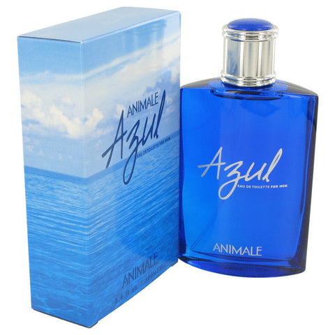ANIMALE AZUL by Animale Eau De Toilette Spray 3.4 oz Men