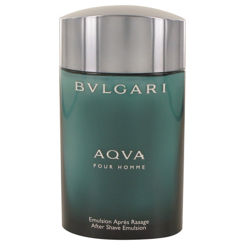 AQUA POUR HOMME by Bvlgari After Shave Emulsion (Tester) 3.4 oz Men