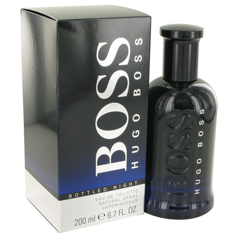 Boss Bottled Night by Hugo Boss Eau De Toilette Spray 6.7 oz Men