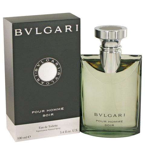 Bvlgari Pour Homme Soir by Bvlgari Eau De Toilette Spray 3.4 oz Men