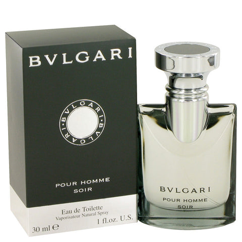 Bvlgari Pour Homme Soir by Bvlgari Eau De Toilette Spray 1 oz Men