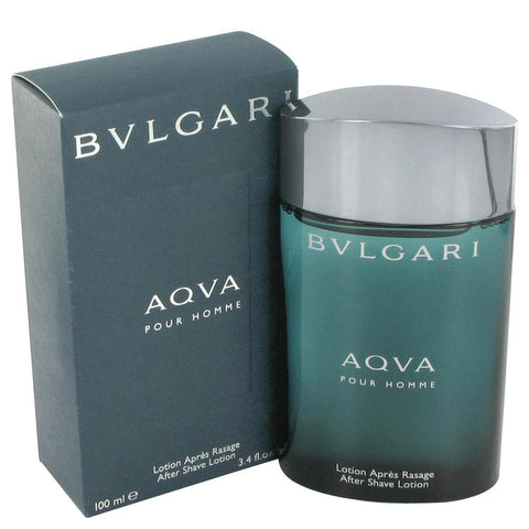AQUA POUR HOMME by Bvlgari After Shave Lotion 3.4 oz Men