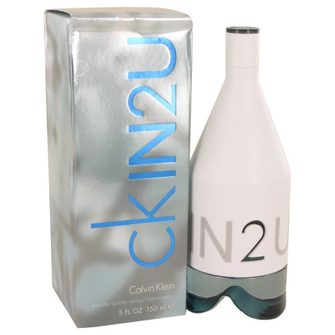 CK In 2U by Calvin Klein Eau De Toilette Spray (Damaged Box) 5 oz Men