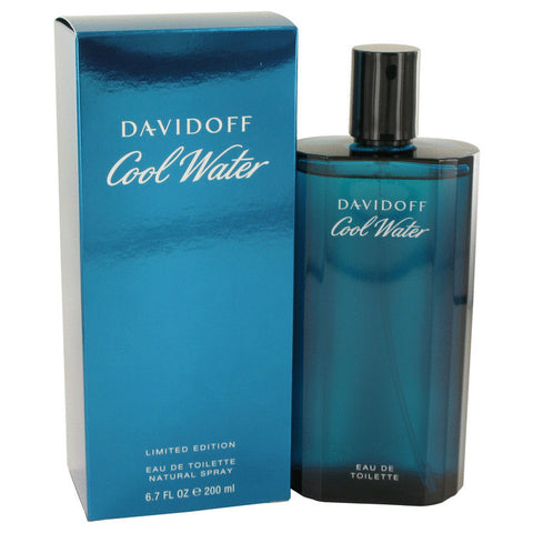 COOL WATER by Davidoff Eau De Toilette Spray 6.7 oz Men