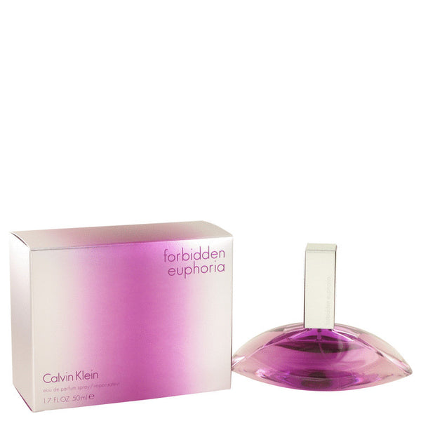 Forbidden Euphoria by Calvin Klein Eau De Parfum Spray 1.7 oz Women - FragranceAndGift