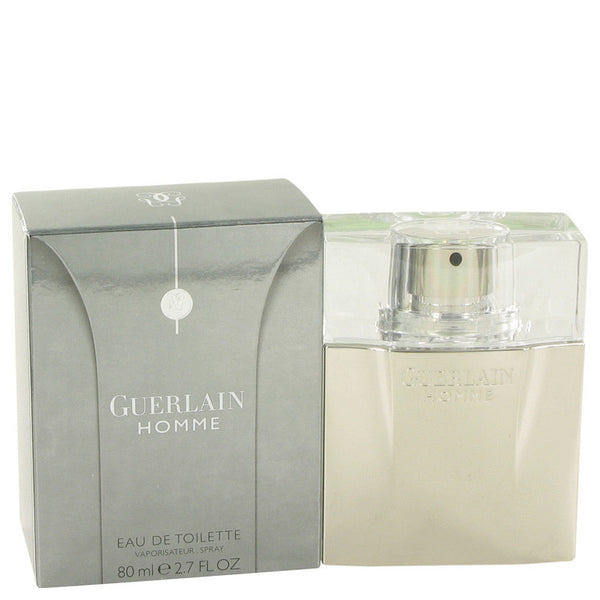 Guerlain Homme by Guerlain Eau De Toilette Spray 2.7 oz Men - Fragrance And Gift