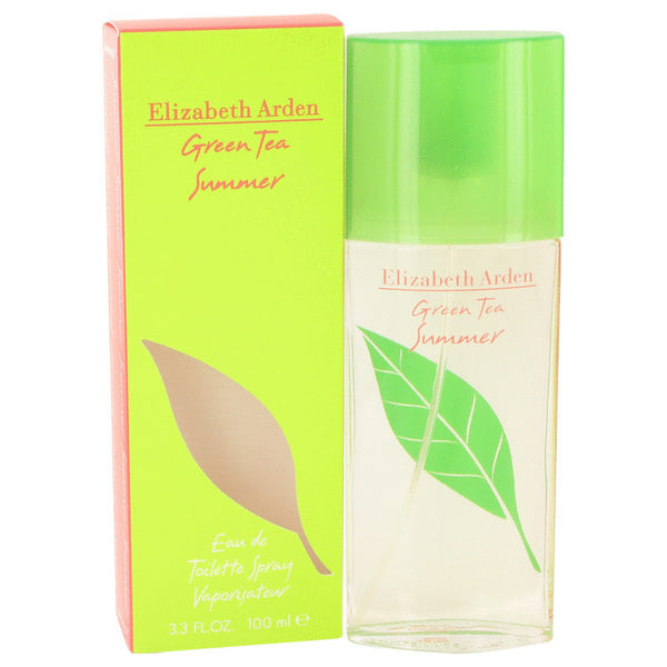 Green Tea Summer by Elizabeth Arden Eau De toilette Spray 3.4 oz Women - Fragrance And Gift