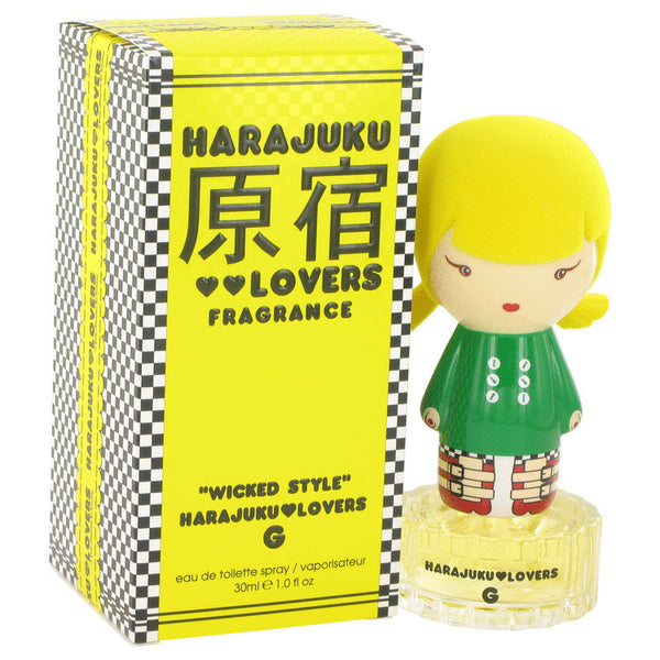 Harajuku Lovers Wicked Style G by Gwen Stefani Eau De Toilette Spray 1 oz Women - Fragrance And Gift