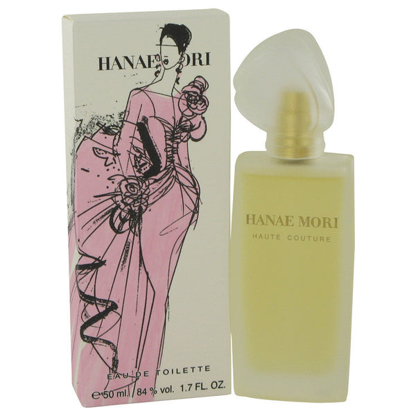 Hanae Mori Haute Couture by Hanae Mori Eau De Toilette Spray 1.7 oz Women - Fragrance And Gift