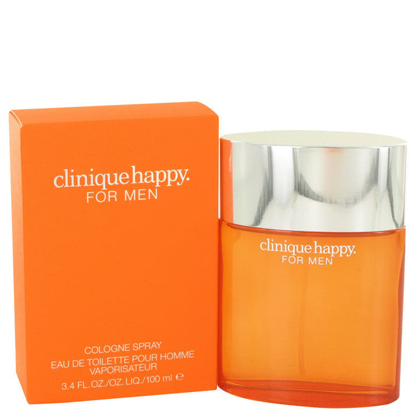 HAPPY by Clinique Cologne Spray 3.4 oz Men - Fragrance And Gift