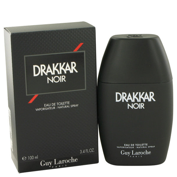 DRAKKAR NOIR by Guy Laroche Eau De Toilette Spray 3.4 oz Men - Fragrance And Gift