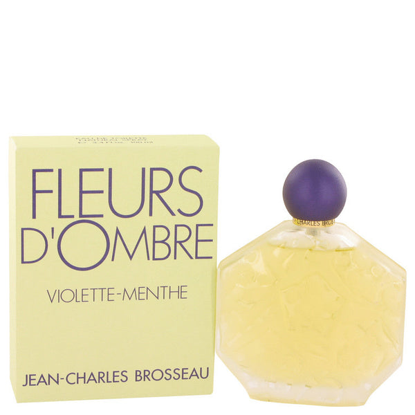 FLEURS D'OMBRE VIOLETTE-MENTHE by Brosseau Eau De Toilette Spray 3.4 oz Women - Fragrance And Gift
