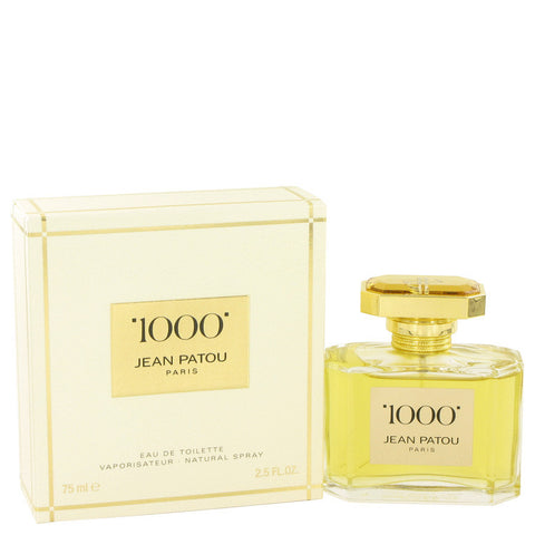 1000 by Jean Patou Eau De Toilette Spray 2.5 oz Women