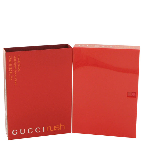 Gucci Rush by Gucci Eau De Toilette Spray 2.5 oz Women - Fragrance And Gift