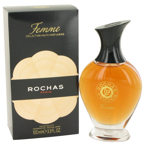 FEMME ROCHAS by Rochas Eau De Toilette Spray 3.4 oz Women - Fragrance And Gift