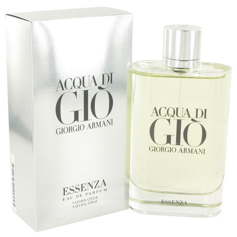 Acqua Di Gio Essenza by Giorgio Armani Eau De Parfum Spray 6 oz Men