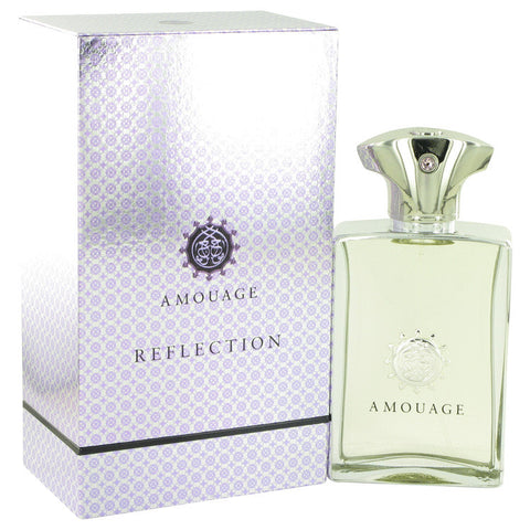 Amouage Reflection by Amouage Eau De Pafum Spray 3.4 oz Men